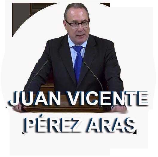 Juan Vicente Pérez Aras es un politólogo y político valenciano